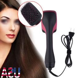 110V 2 in 1 Professional Hair Blow Dryer+ Hot Air Styler Cur