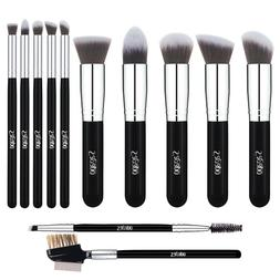 12PCS Makeup Brushes Sets Foundation Lip Blush Face Powder E