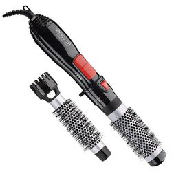 "Revlon 2-IN-1 1"" & 1-1/2"" HOT AIR BRUSH KIT HAIR STYLER 500W"