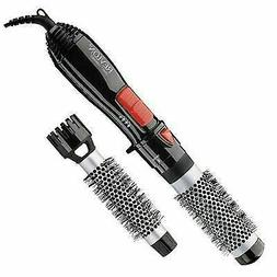 Revlon 2-in-1 3x Ceramic Coated Ionic Hot Air Hair Brush Kit
