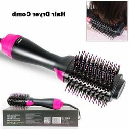 2 in 1 One-Step Hair Dryer & Volumizer Straightener Curler C