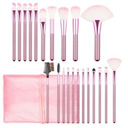22pcs Soft Makeup Brushes Powder Eyeshadow Face Lip Brush Ki