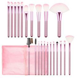 22pcs Soft Makeup Brushes Powder Eyeshadow Face Lip Brush Ki