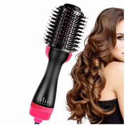 3 in 1 One Step Hot Air Hair Dryer Brush Negative Ion Stylin