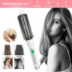 32mm LCD Hot Hair Air Brush Styling Iron Ceramic Anion Hairb