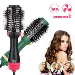 3in1 Hair Dryer Volumizer Hot Air Brush Straightening Curlin