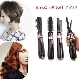 4 in 1 hair dryer hair straightener curling iron negative br