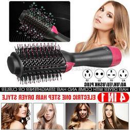 4 in1 Hair Blow Dryer Volumizer Brush Comb Hot Air Hair Drye