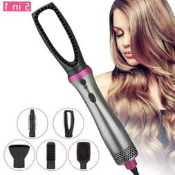 5in1 Hair Dryer Brush Ionic Technology Hot Air Hair Dryer Co