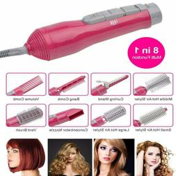 8 in 1 professional hair blow dryer