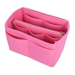 Makeup Bag Cosmetic Cases Felt Bag Organizer Insert Cosmetic