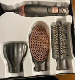 BESTOPE Hot Air Brush 3 in 1 Hair Styler for Drying Straight