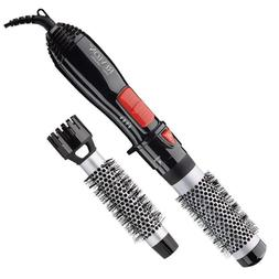 "Revlon Ceramic Hot Air Brush Kit with 1"" & 1-1/2"" Brush Atta"