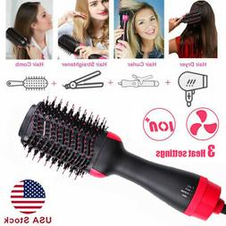 Hot Air Hair Dryer Negative Ion Volumizer Styling Blower Bru