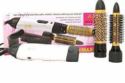 Drying Hair Dryer Volumizer Brush Hot Air Ceramic Ion Turbo