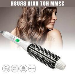 Electric Ceramic Hair Curling Wand Curler Iron Hot Air Brush