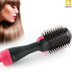 Hair Brush Roller Hair Dryer Volumizer Rotate Straightening
