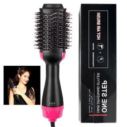 Hair Dryer & Volumizer 2 in 1 Straightening & Drying Hair Br