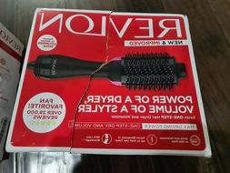 hair dryer and volumizer one step oval