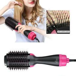 One-Step Hair Dryer & Volumizer Roller Electric Hot Air Brus