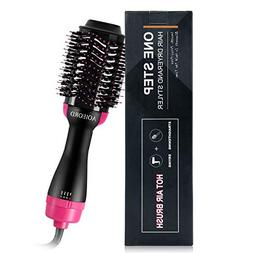 Hair Dryer Brush, AOIEORD Dry & Straighten & Curl in One Ste
