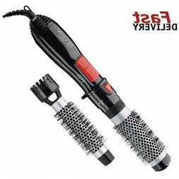 Hair Dryer Brush and Hot Air Blower Styler Curling Straighte