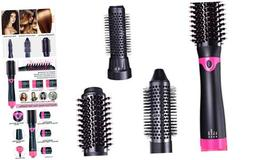 Hair Dryer Brush Hot Air Brush with Interchangeable Brush He