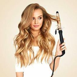 Hair Hot Air Curling Iron Brush Styler Nano Ceramic Hair Cur
