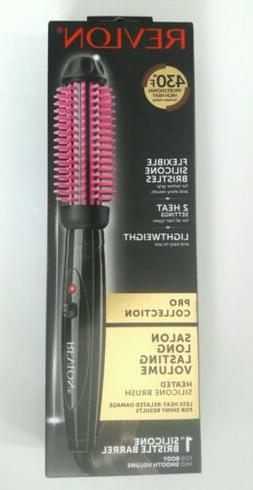 "Revlon Heated Silicone 1"" Styling Brush"