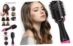 Hot Air Brush, CkeyiN Hair Dryer & Volumizer Professional Ce