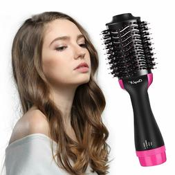 Hair Straightener Brush, Hot Air Dryer Brush One Step Hair C