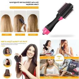 Hot Air Brush One Step Hair Dryer  Curly Hair Comb For All H