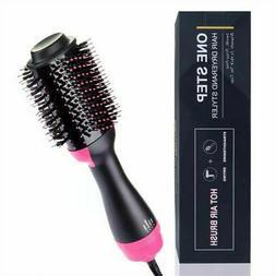 hot air hair dryer brush one step