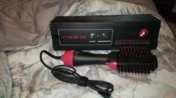 Hot Air Hair Dryer Negative Lon One Step styling Blower Brus