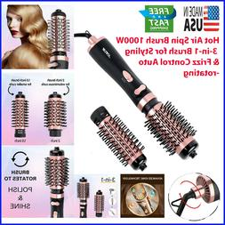 Hot Air Spin Brush 1000W 3-in-1 Brush for Styling & Frizz Co