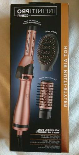 InfinitiPro by Conair Hot Air Brush Multi-Styler, Curling Ir