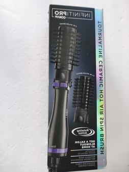 INFINITIPRO BY CONAIR Hot Air Spin Brush, 2-inch and 1 1/2-i