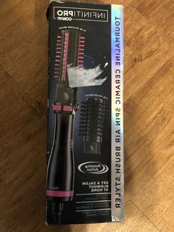 INFINITIPRO BY CONAIR Hot Air Spin Brush, 2 Inch and 1 1/2 I
