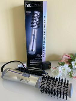 """INFINITIPRO BY CONAIR Titanium Ceramic Hot Air Brush, 1.5"""" H"""