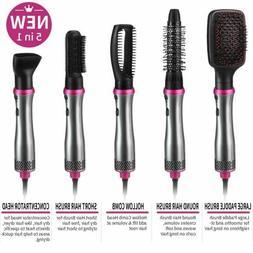 JASGOOD 5 In 1 Hot Air Brush Multifunctional One Step Hair S