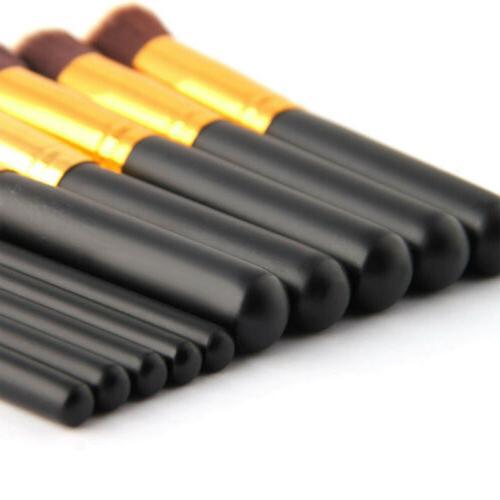 10Pc Powder Foundation Brush