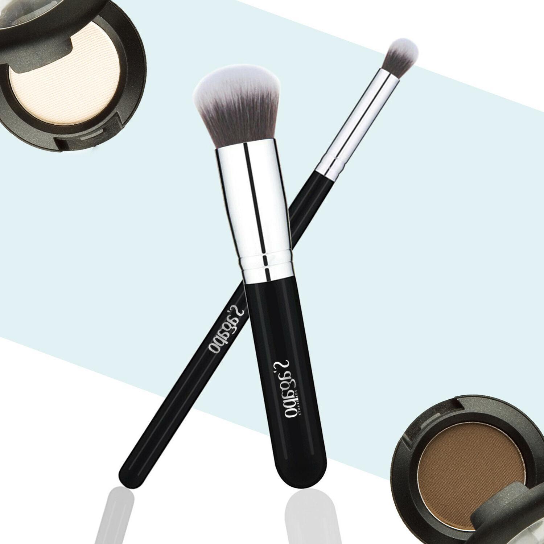 12PCS Makeup Brushes Foundation Powder Mascara