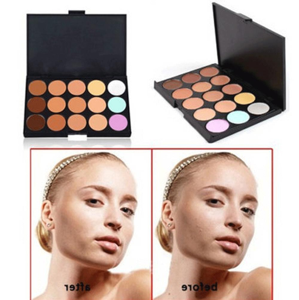 15 Colors Makeup Face Concealer Professional + SP