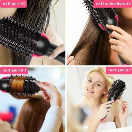 2 In 1 Air Brush Straightening & Drying Hair Comb