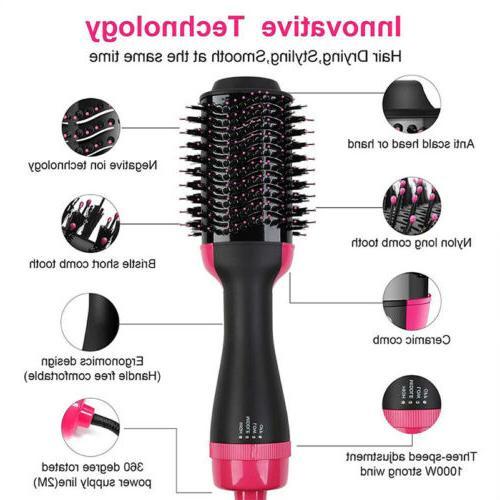 2-in-1 Hair Volumizer Curler Infrared Hot