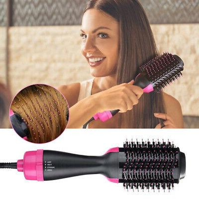 2 Hair Comb Hot Air Styler Styling