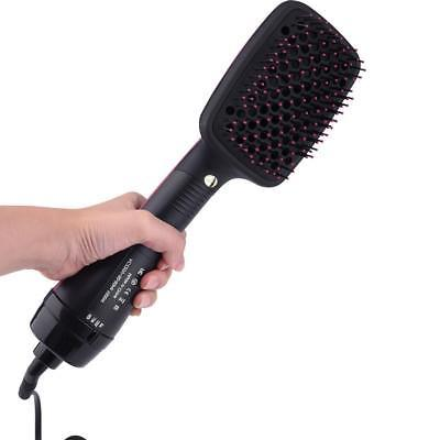 2in1 Professional Hair Dryer with Hot Styler Brush US