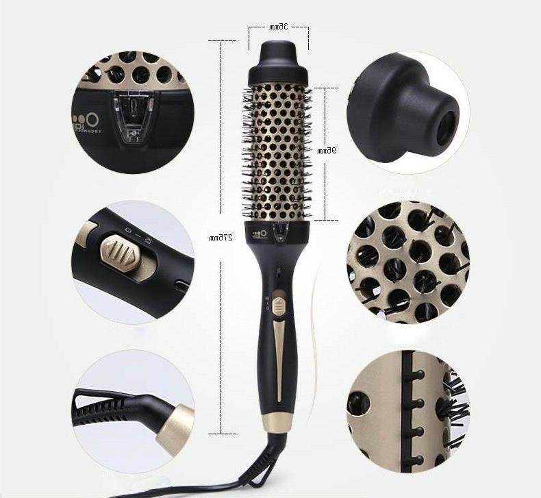2017 ceramic brush air professional curling