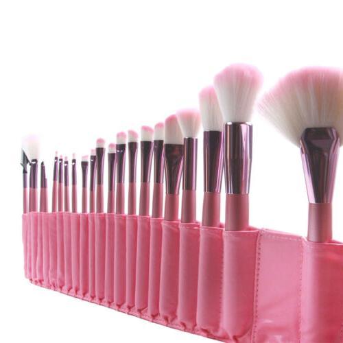 22pcs Soft Brushes Powder Eyeshadow Face Brush Kit &