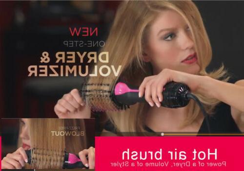 2in1 Dryer & Curler Brush